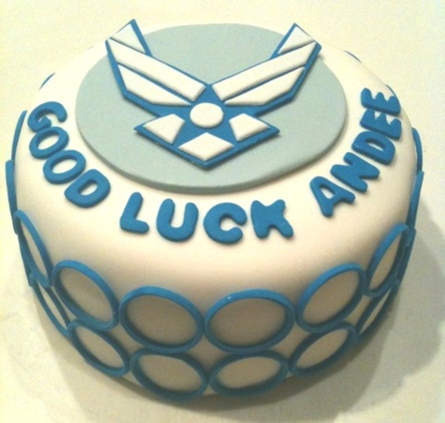 Air Force Cake on Cake Central
