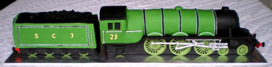 Flying Scotsman Train Cake Cakecentral Com
