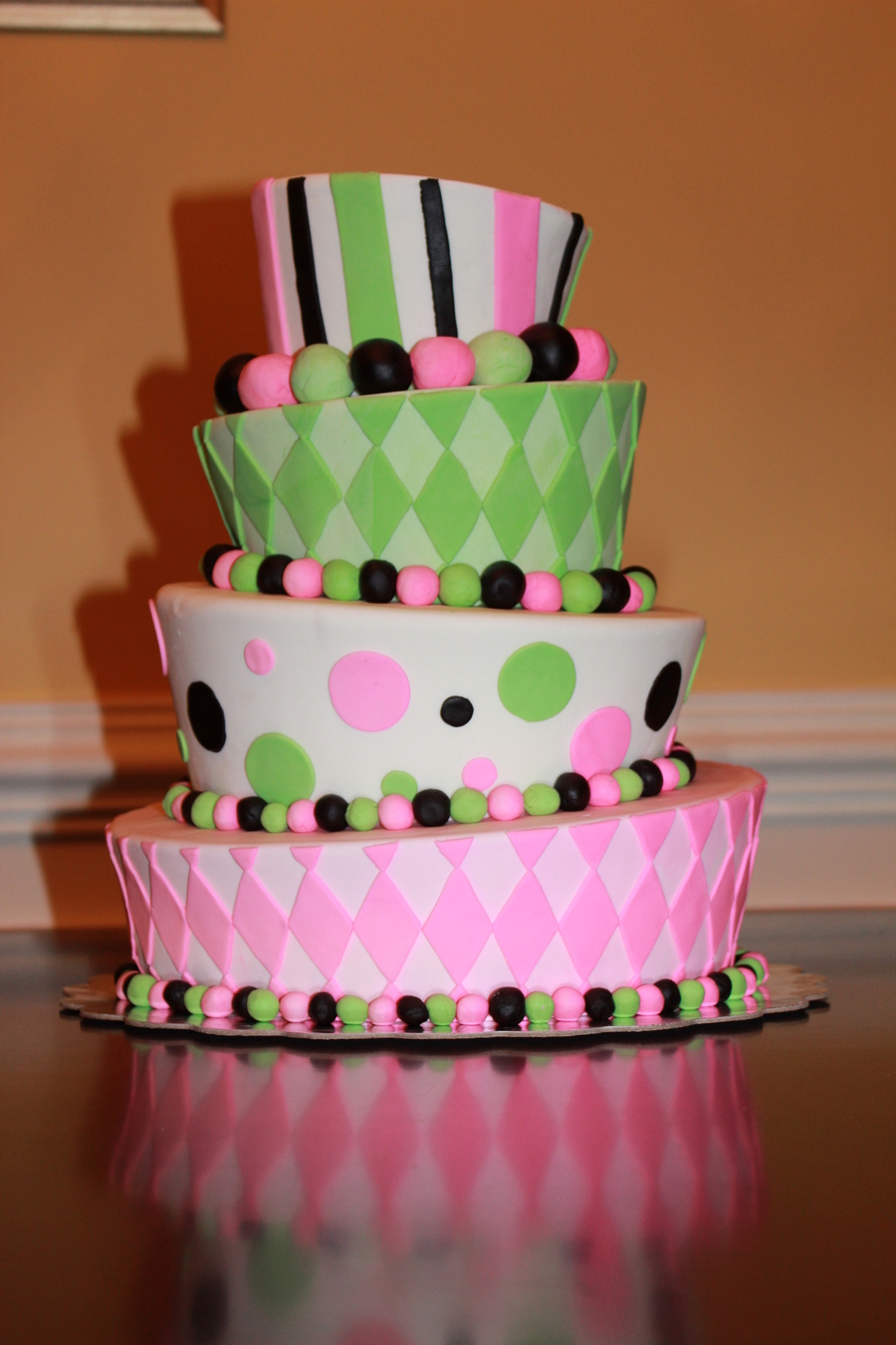 Topsy Turvy on Cake Central