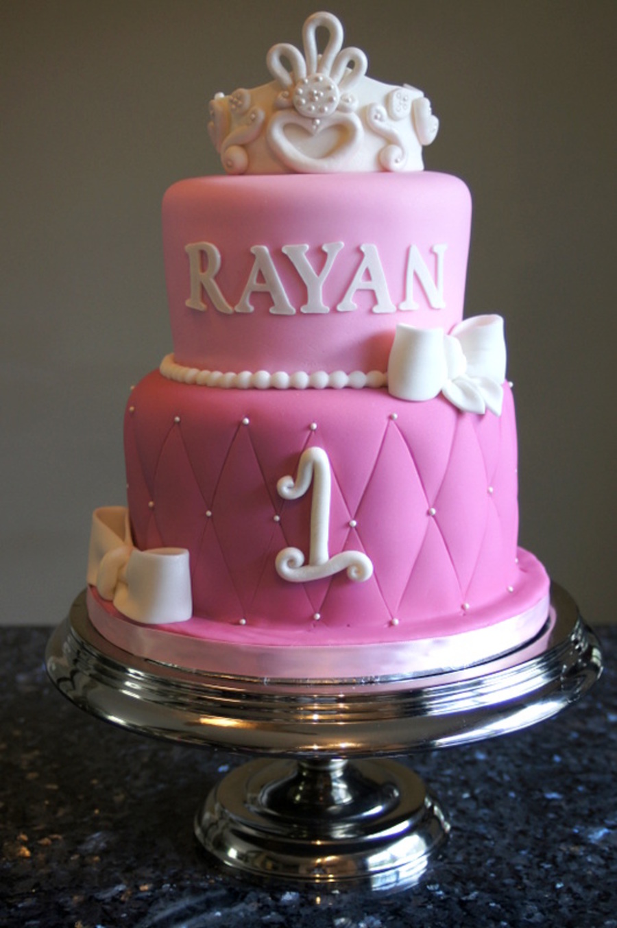 Princess First Birthday Cake Cakecentral Com