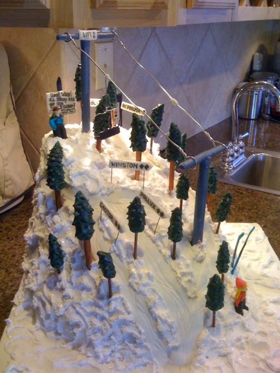 Ski Cake Cakecentral Com