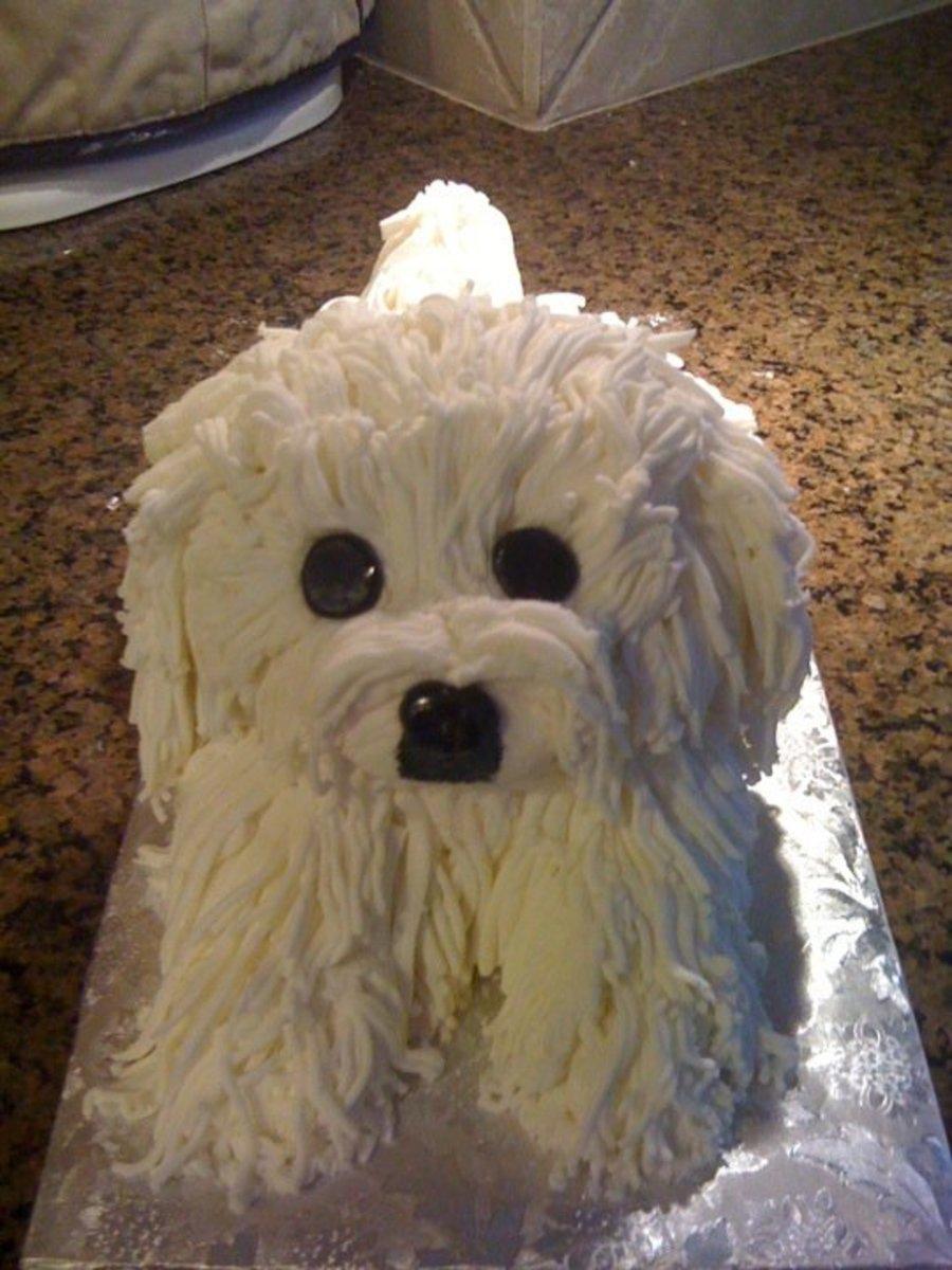 Pekingese Doggy Cake Cakecentral Com
