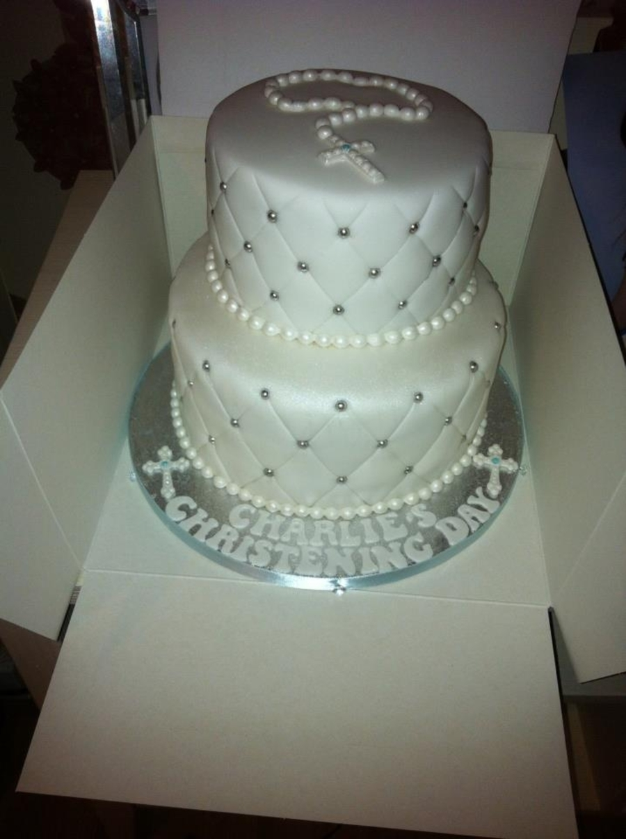 2 Tier Quilted Cake on Cake Central