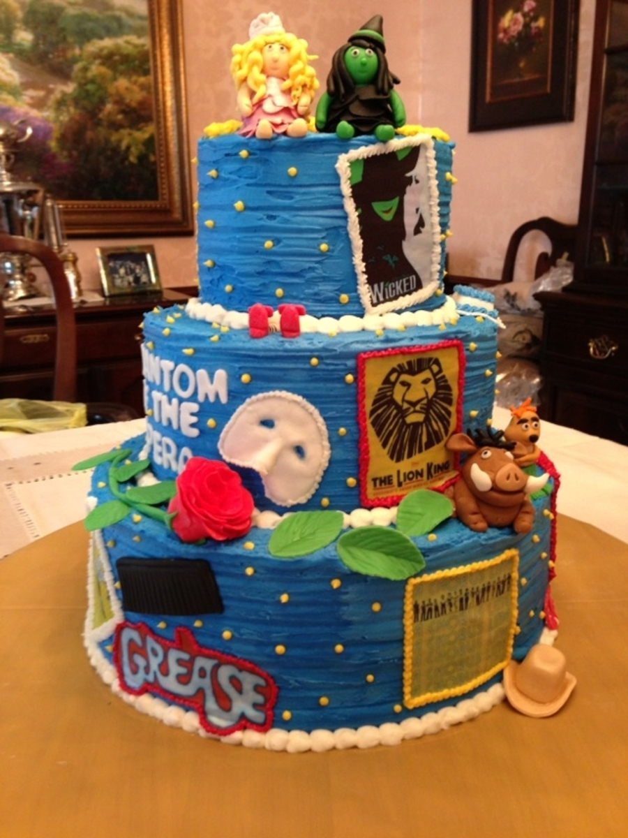 Broadway Musicals on Cake Central
