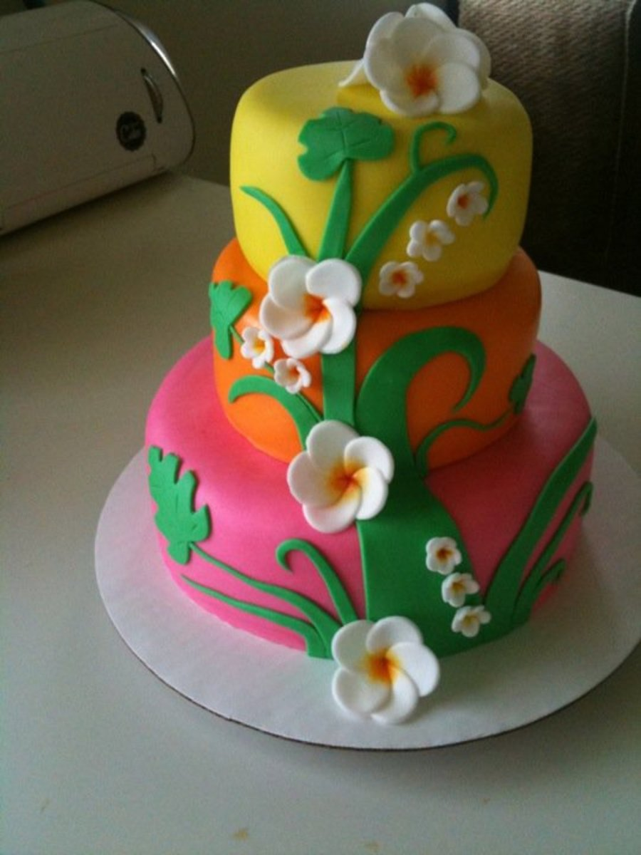 Tropical  on Cake Central
