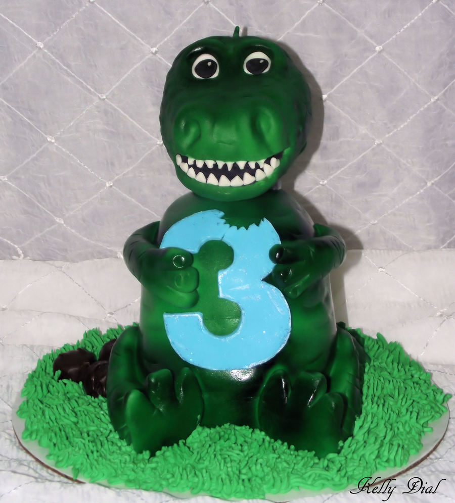 Bob The T-Rex on Cake Central