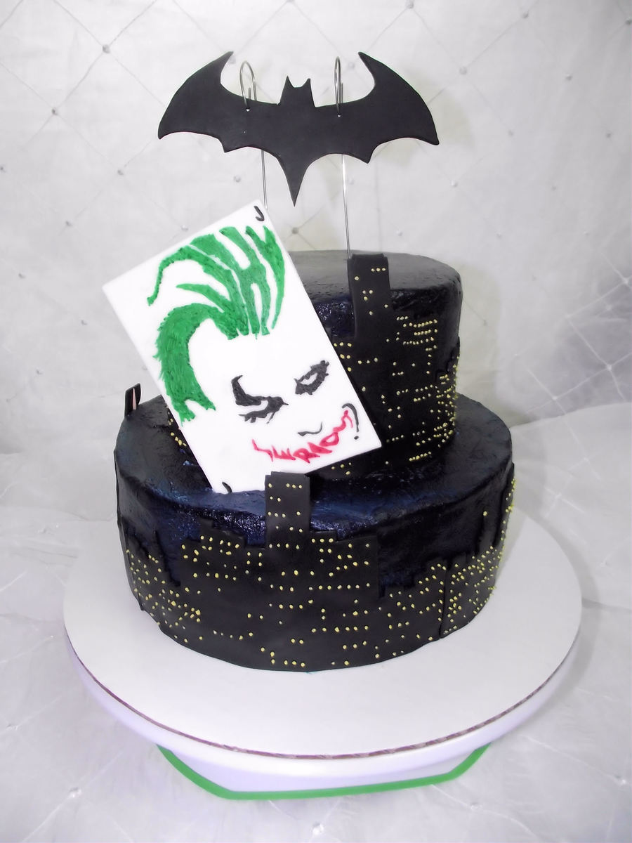 Why So Serious  on Cake Central