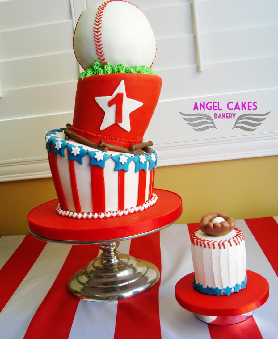 Baseball First Birthday Cake Cakecentral Com