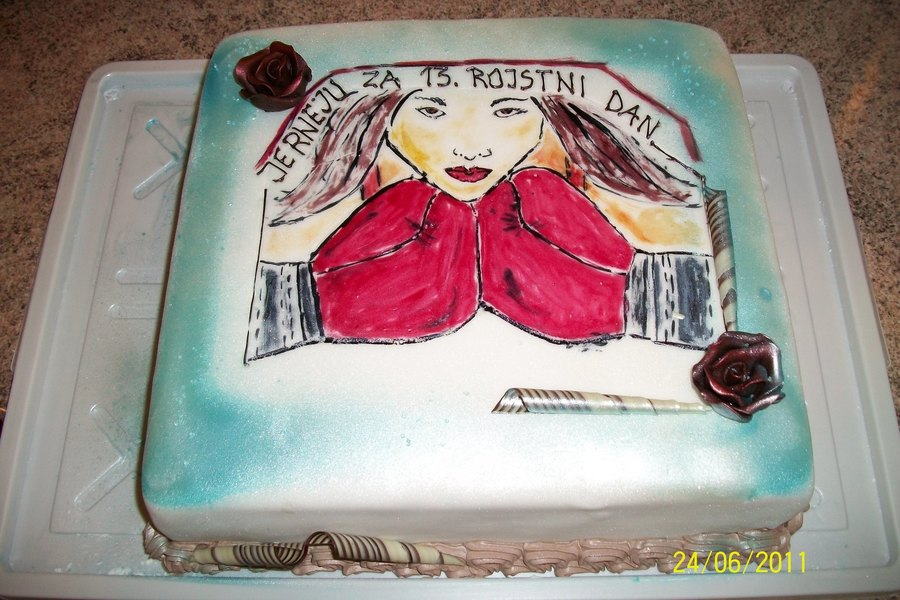 Boxing Girl on Cake Central