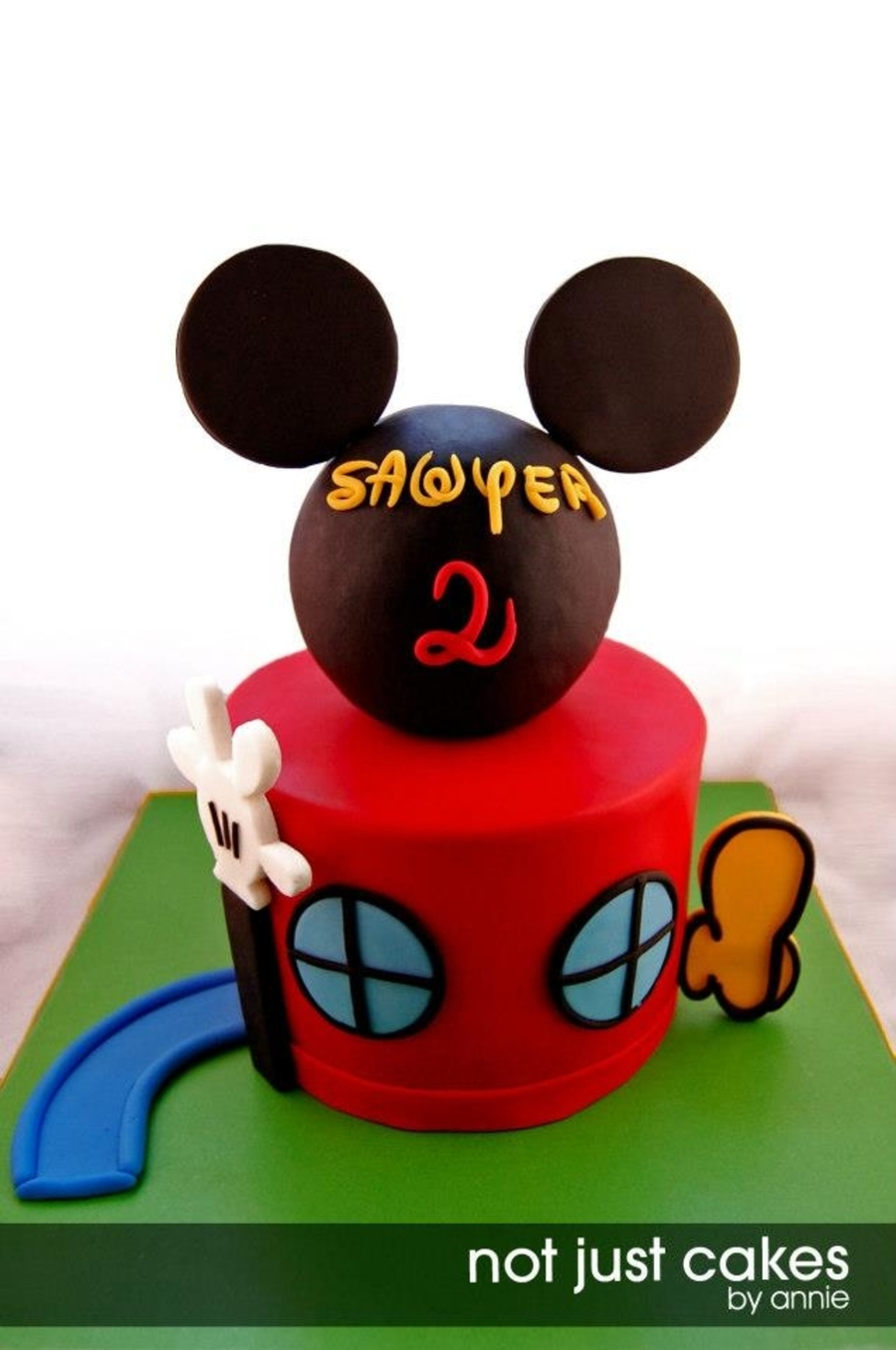 Sawyer S Mickey Mouse Clubhouse Cake Cakecentral Com