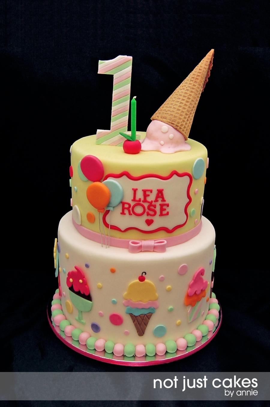 Balloon Theme Birthday Cake Sheet Cake