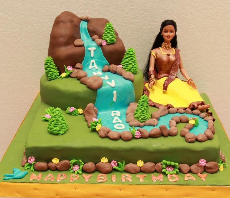 Indian Traditional Barbie Doll Birthday Cake Cakecentral
