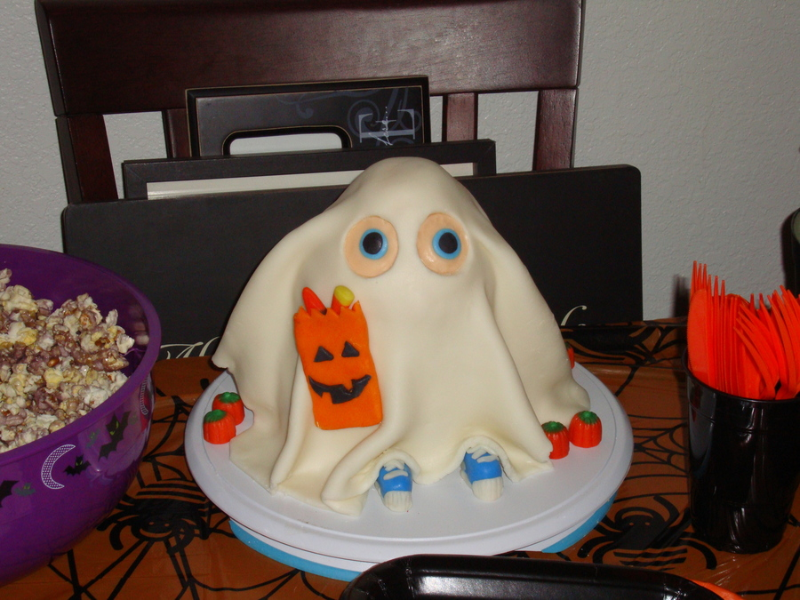 My Second Cake (Halloween) on Cake Central