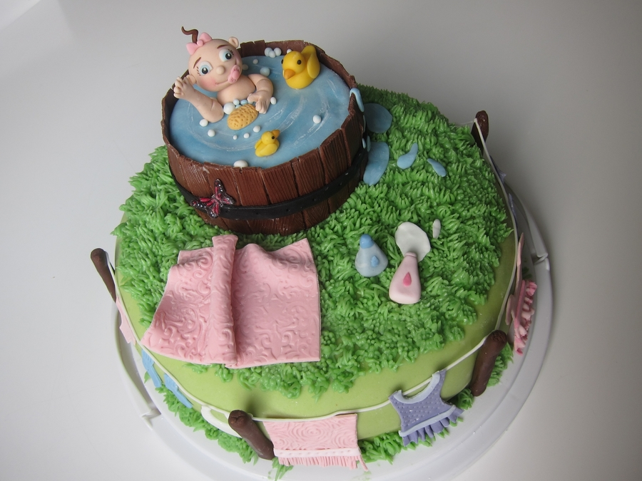 Baby Bath on Cake Central