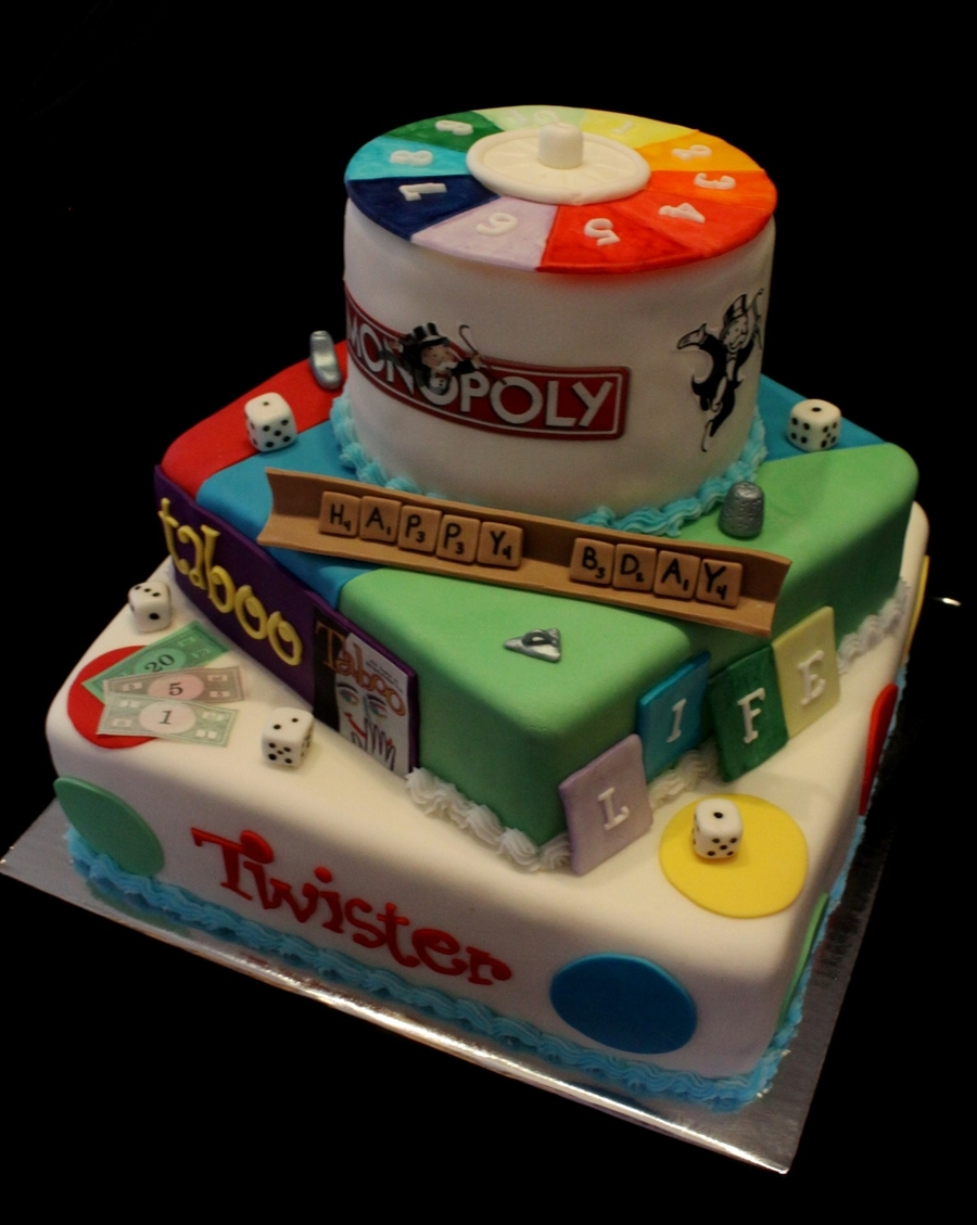 Board Game Cake on Cake Central