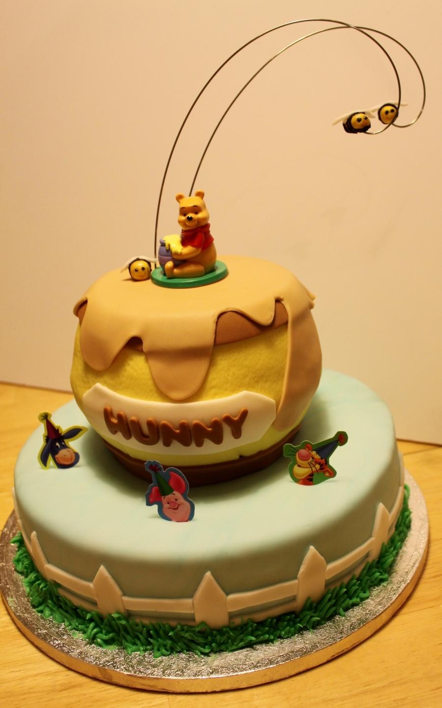 Hunny Pot Cake Tutorial
