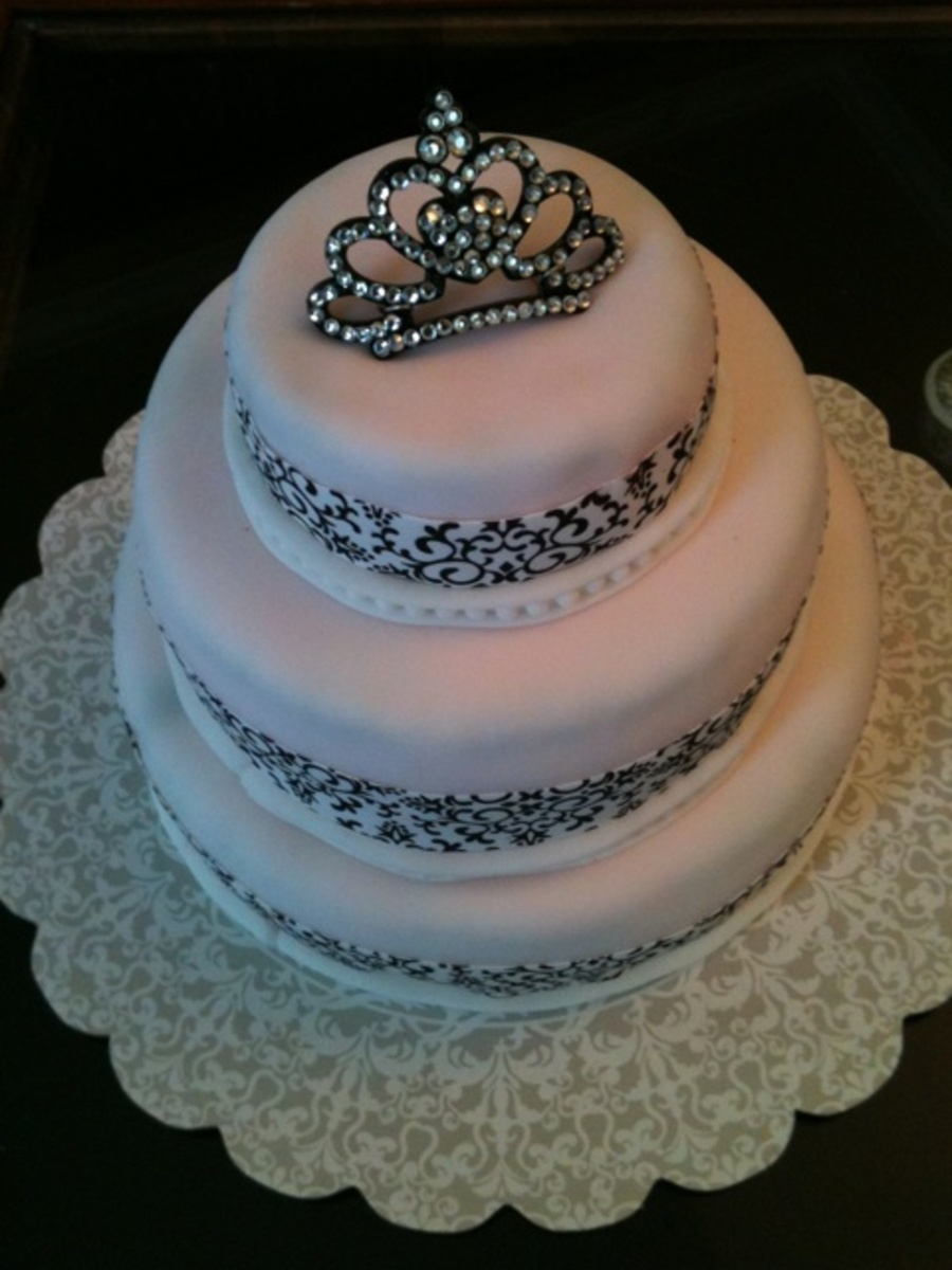 Pageant Cake on Cake Central