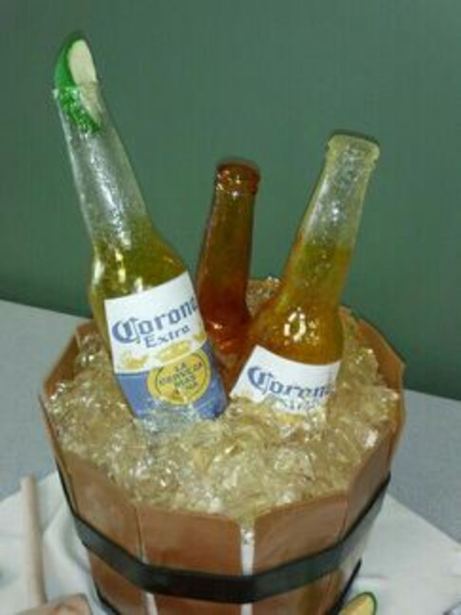 Incredible Stevens Beer Bottle Cakes Cakecentral Com Personalised Birthday Cards Epsylily Jamesorg