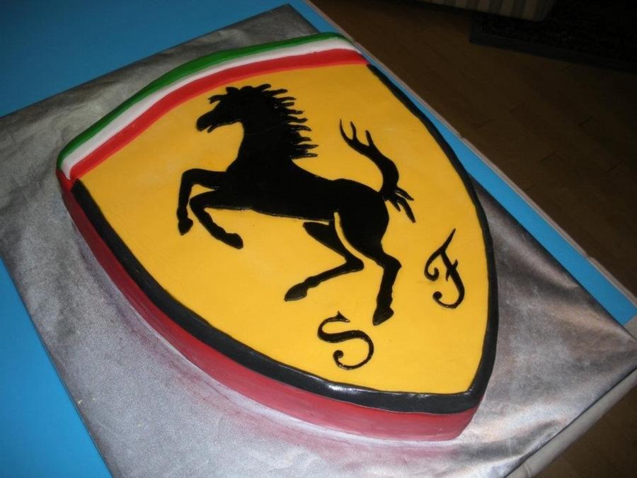 Ferrari Cake Tutorial