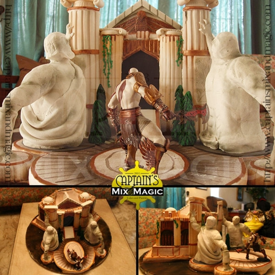 God Of War: Temple Of Fates on Cake Central