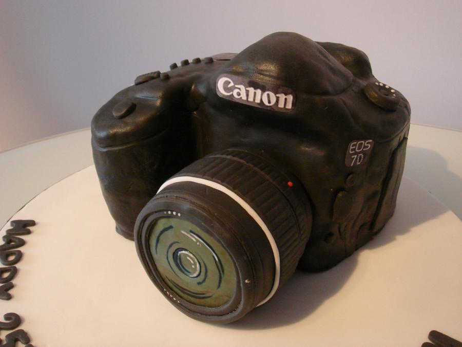 Canon Camera Birthday Cake