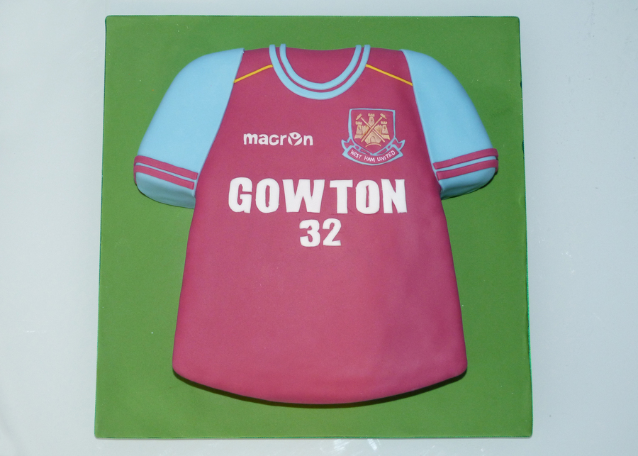 Football Shirt Cake Recipe
