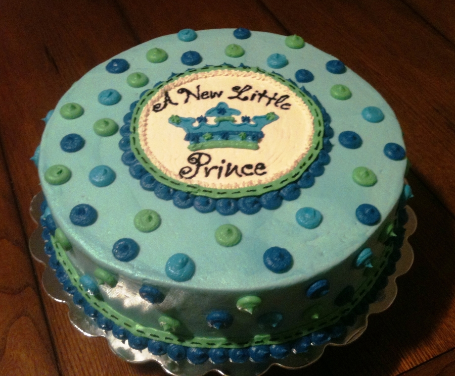 A New Little Prince on Cake Central