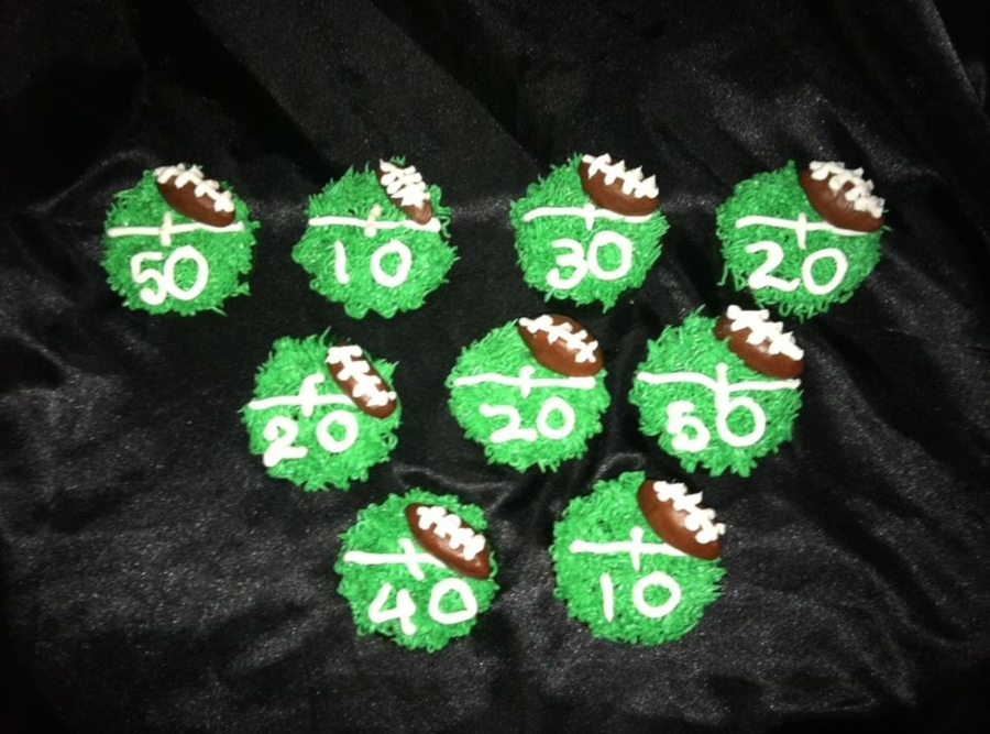 Superbowl Cupcakes on Cake Central