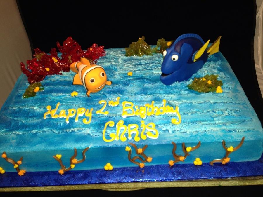 Nemo Dory Birthday Cake CakeCentralcom