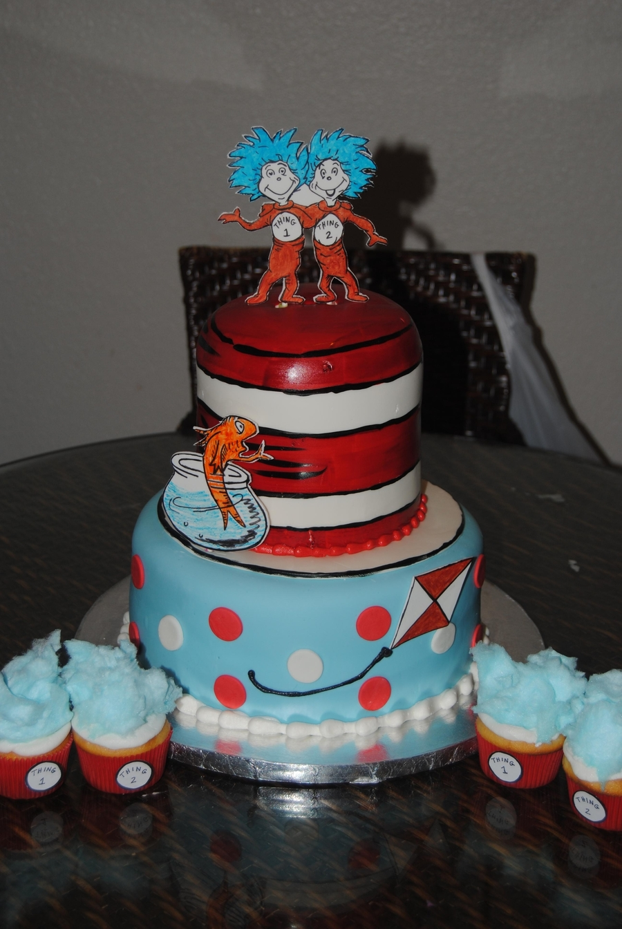 Thing 1 Thing 2 on Cake Central