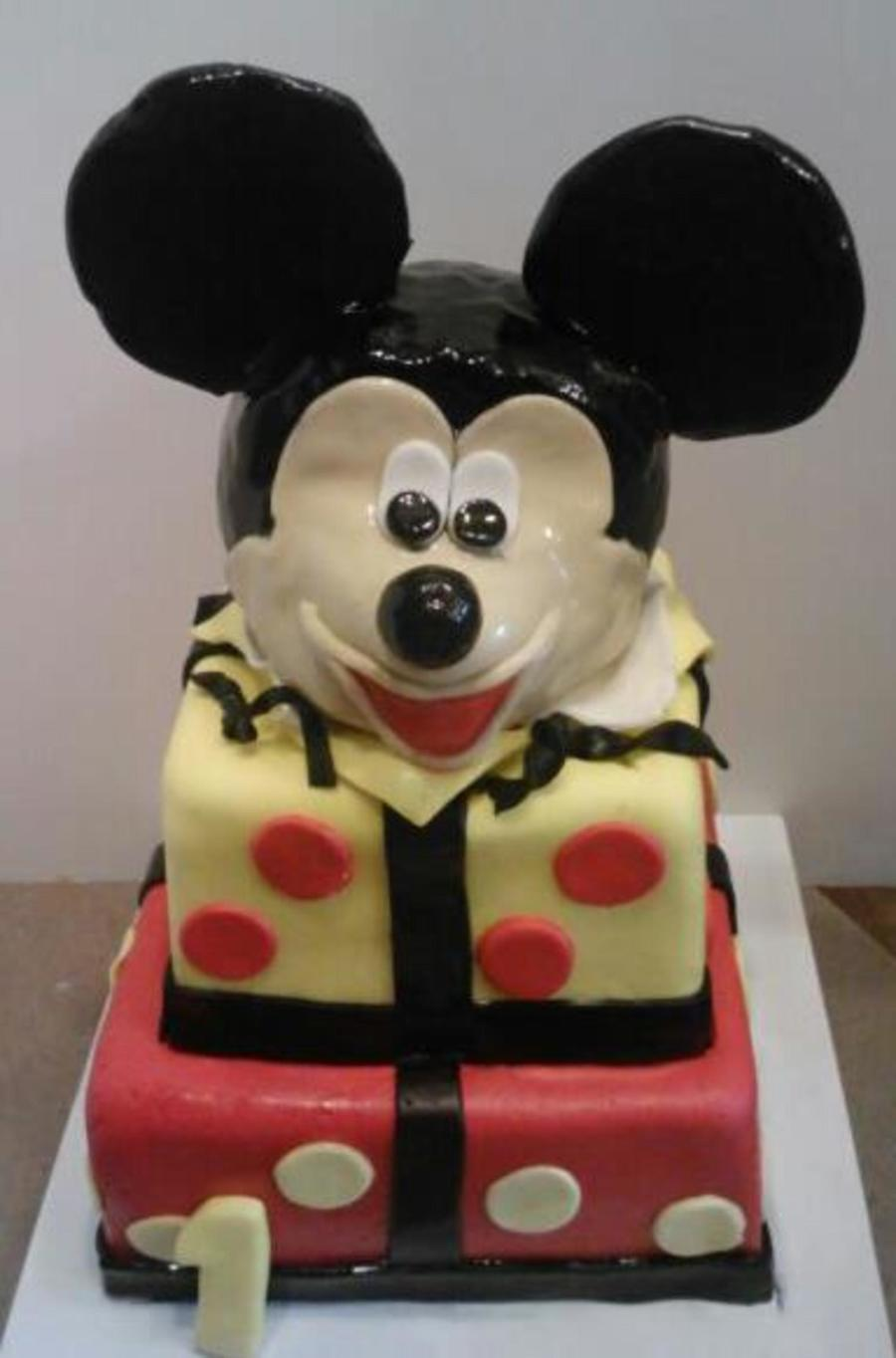 Mickey First Birthday on Cake Central