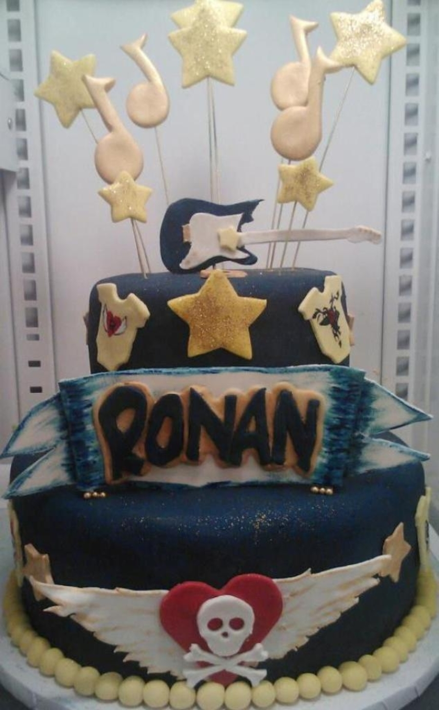 Rocker Baby Shower on Cake Central