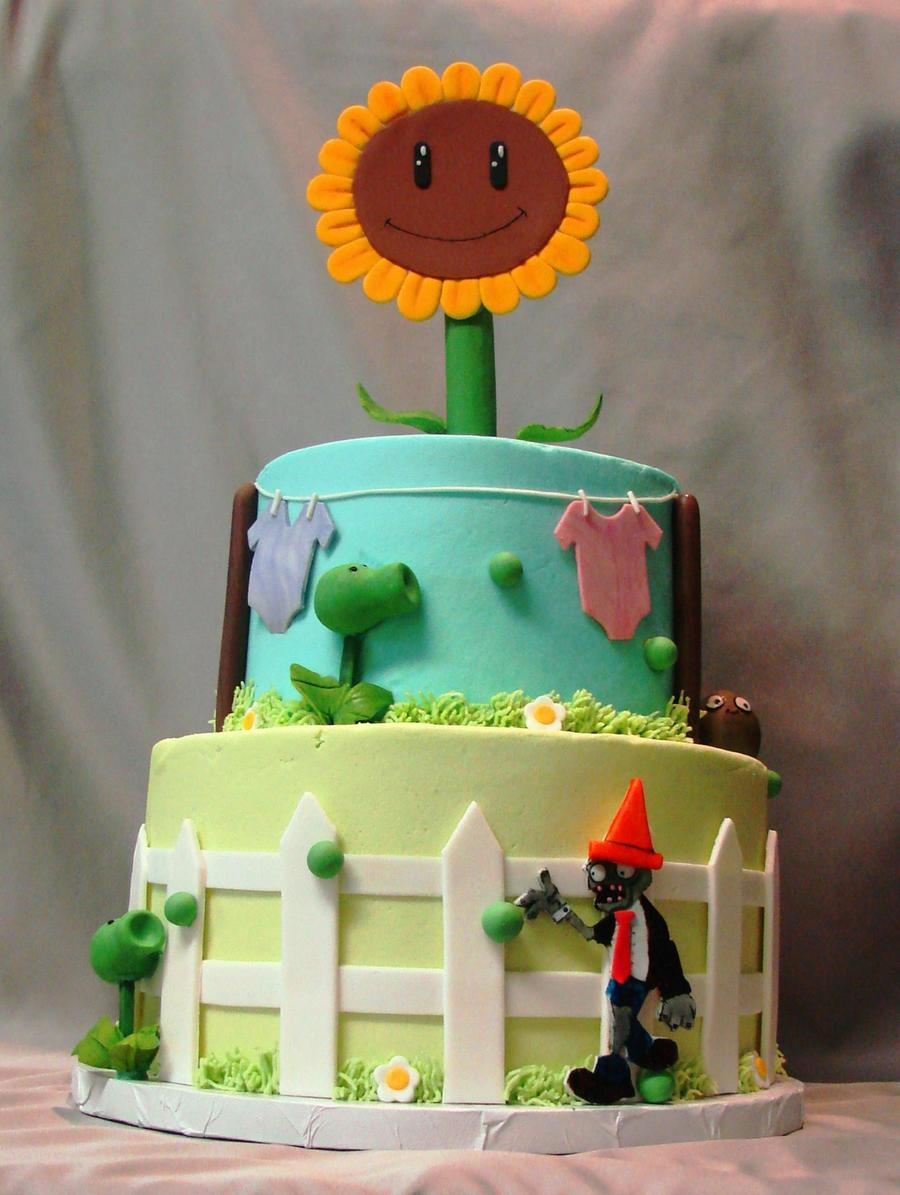 Plants Vs Zombies Cake on Cake Central