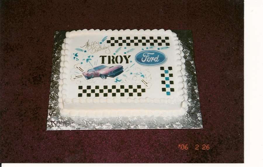 Ford Mustang Cake  on Cake Central