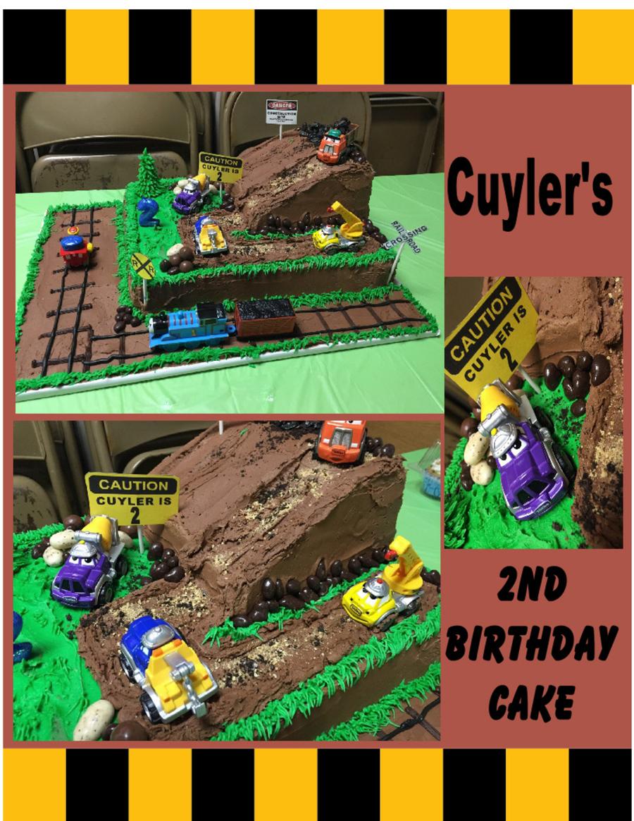 Wondrous Construction Site Birthday Cake Cakecentral Com Funny Birthday Cards Online Alyptdamsfinfo