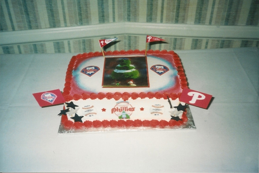 'phillies' Phanantic Groom's Cake on Cake Central