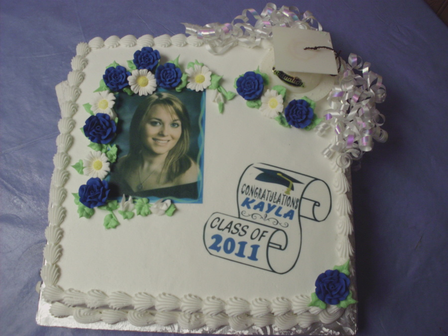 Photo Graduation Cake  on Cake Central