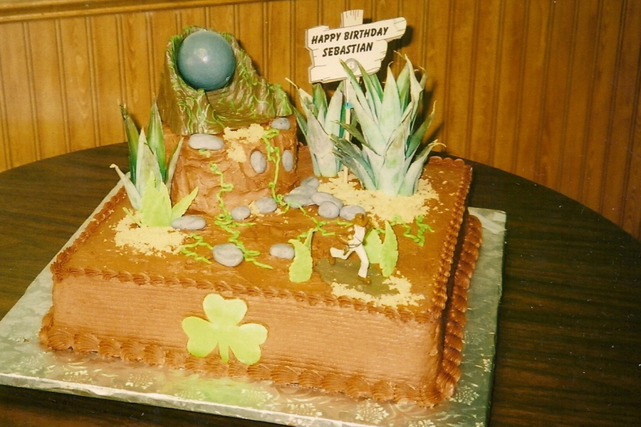Indiana Jones Cake on Cake Central