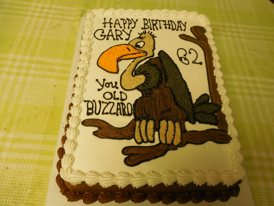 Old Buzzard Cake on Cake Central