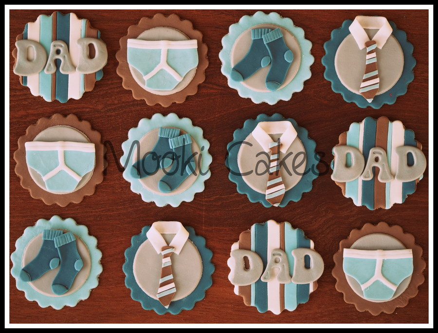 Father S Day Cupcake Toppers Cakecentral Com