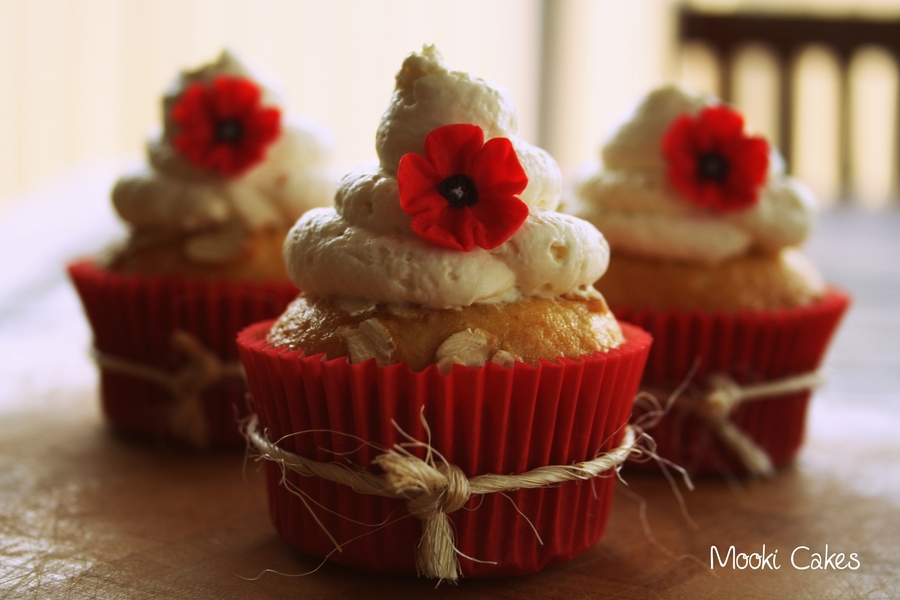 Anzac Cupcakes - CakeCentral.com