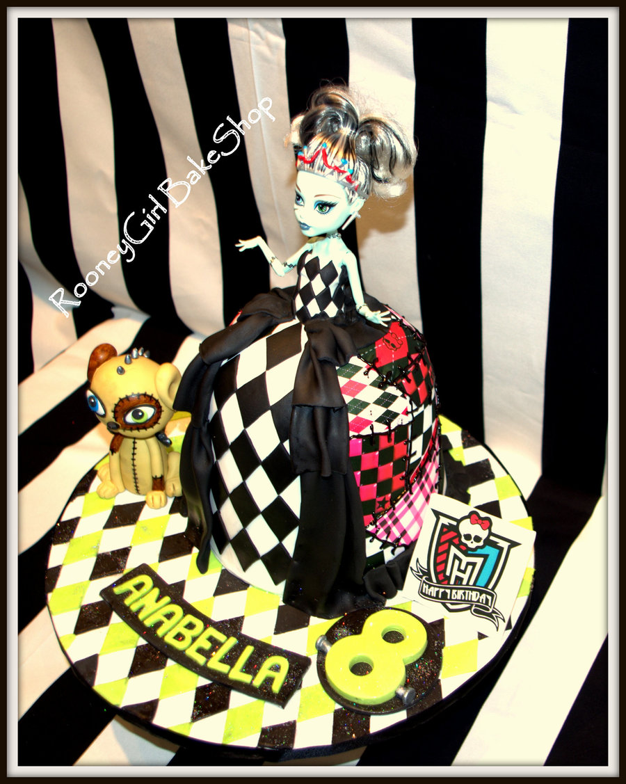 Frankie Stein Birthday Cake