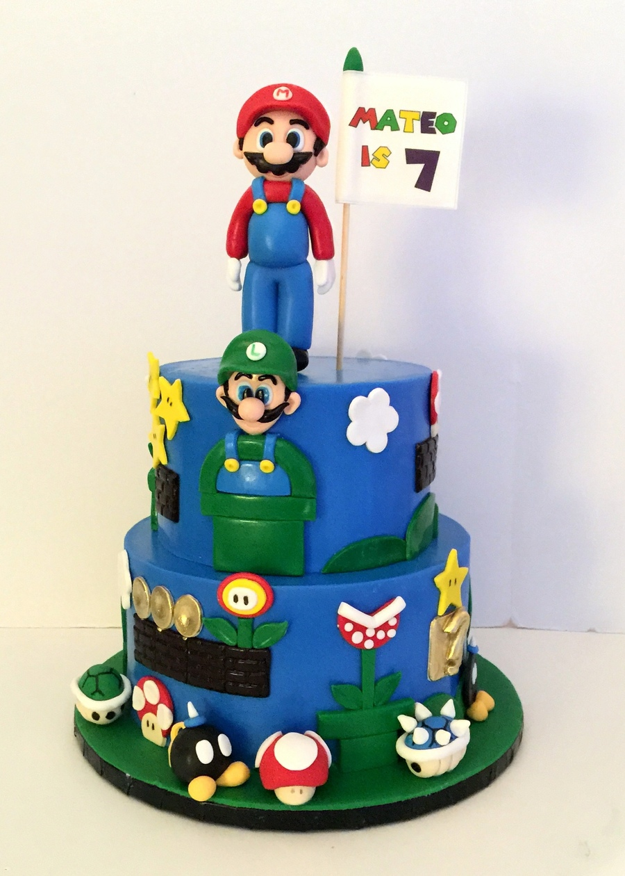 Super Mario Brothers on Cake Central