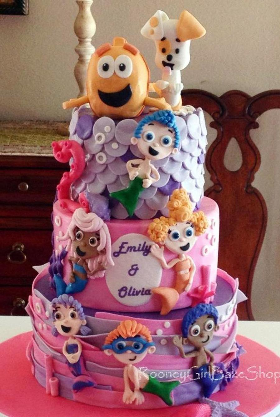 Bubble Guppies Birthday Cake on Cake Central