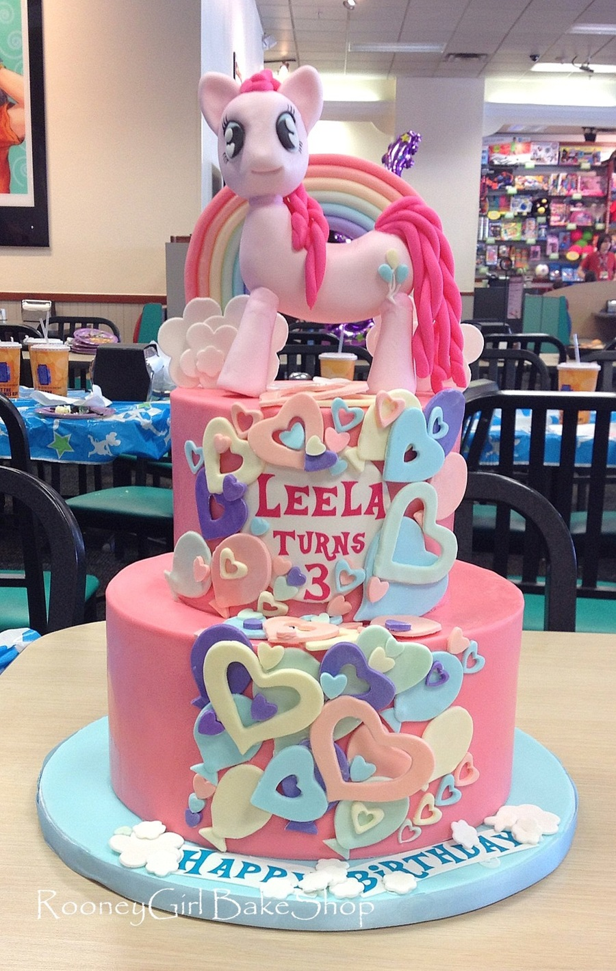 Pinkie Pie On Cake Central