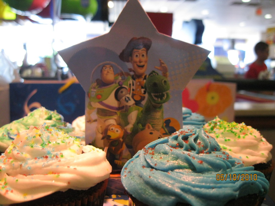 Toy Story Cupcakes on Cake Central