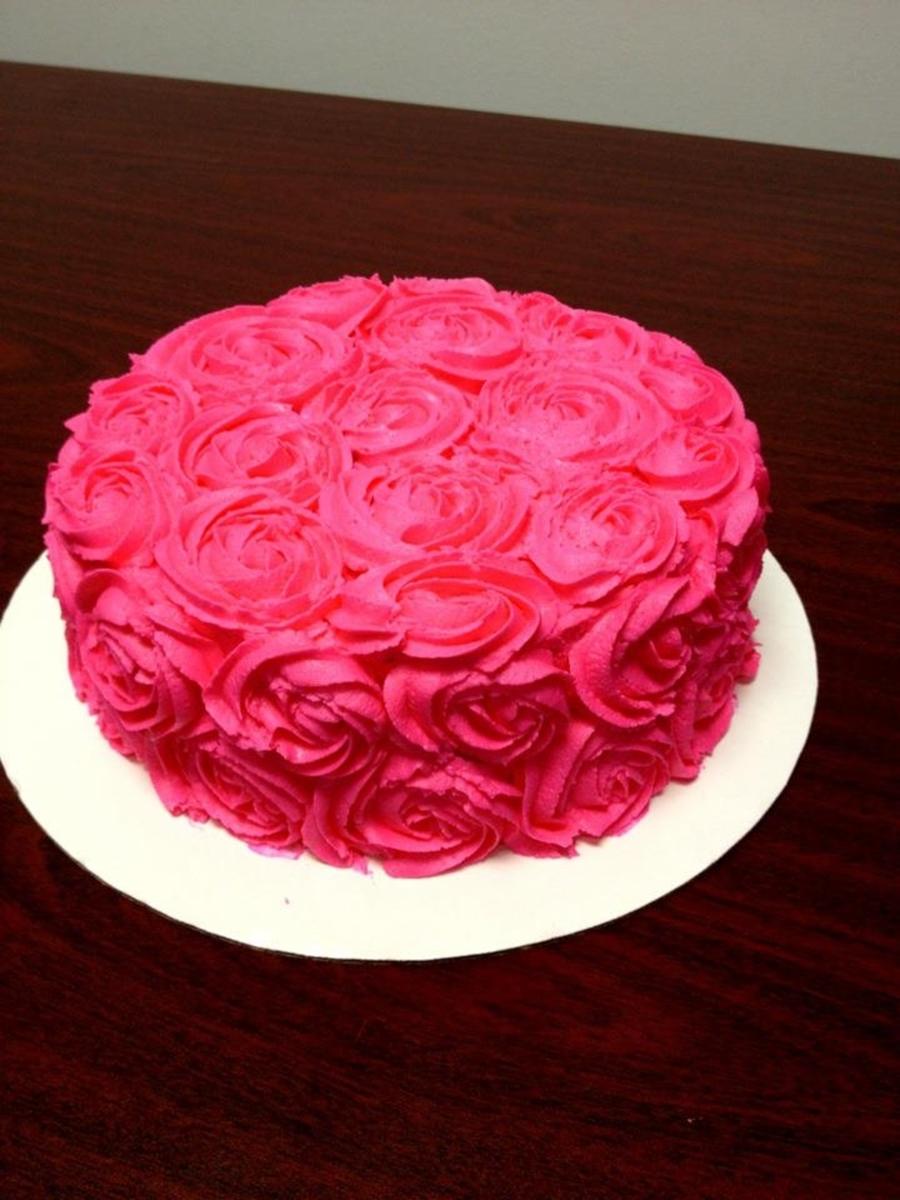 Pink Marble Cake Recipe
