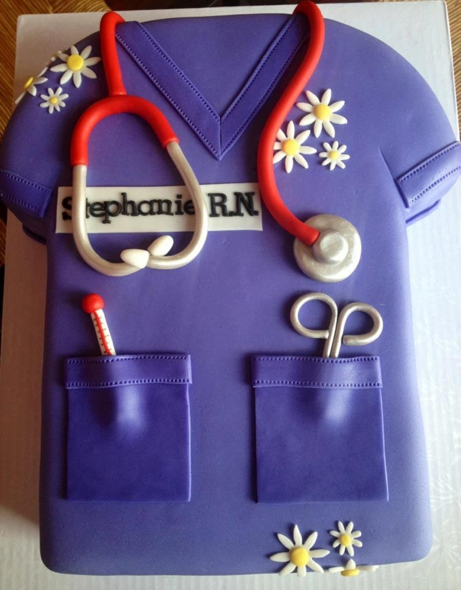 Nurse Cake From Sweet Discoveries on Cake Central