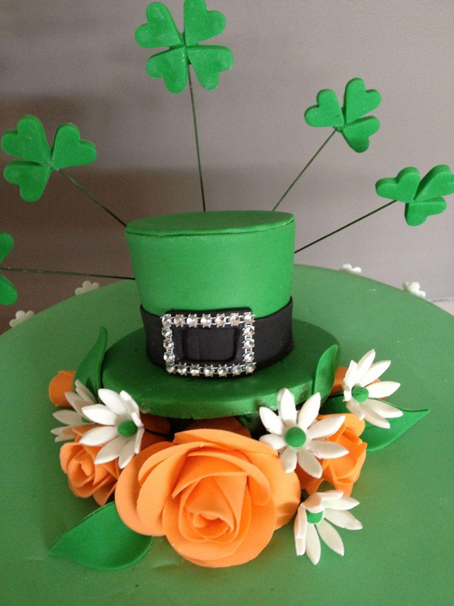Sensational Irish Themed Birthday Cake Cakecentral Com Personalised Birthday Cards Veneteletsinfo