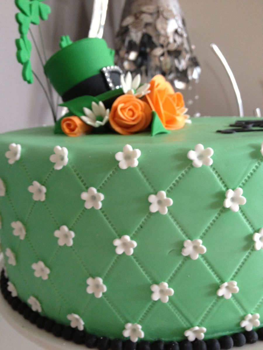 Birthday Cake Shamrock